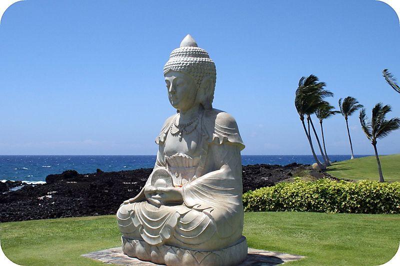 Buddha Point, Hilton Waikoloa Village, Hawaii
