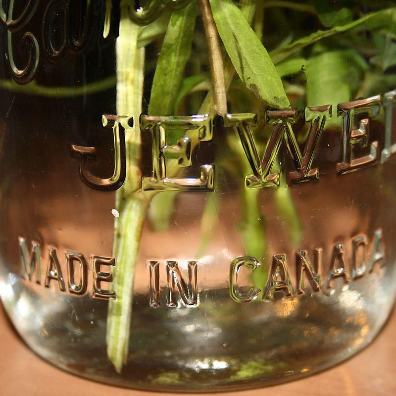 Stems in mason jars