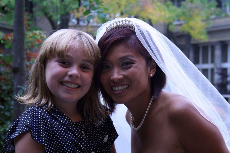 Olivia & the bride ) Rose