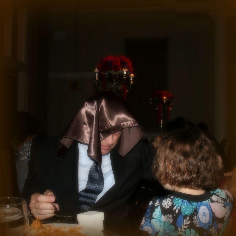 Julian entertaining the children )