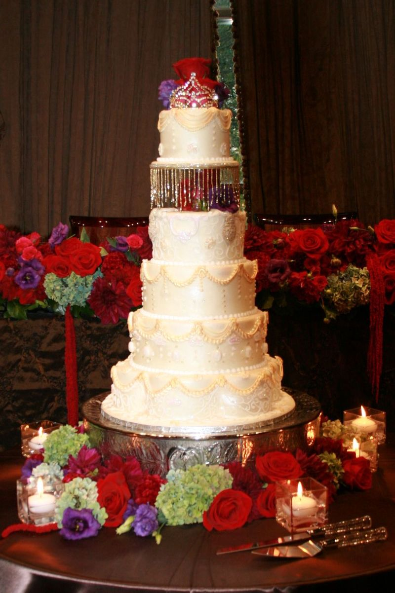 The cake )