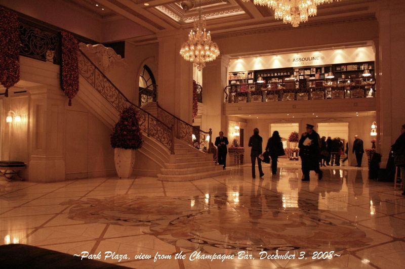 Park Plaza lobby