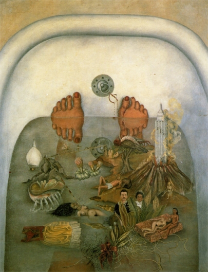Frida-kahlo-what the water gave her