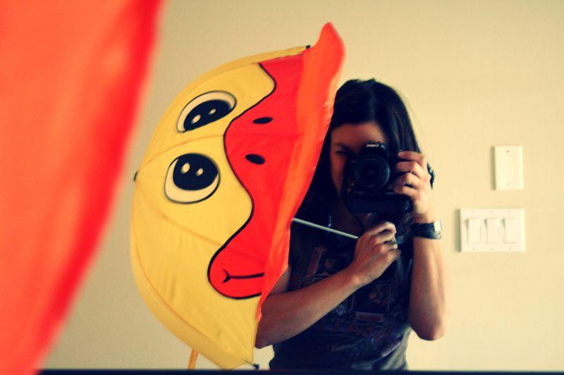 My duckie umbrella