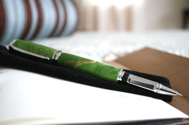 My new greenleaf wood studio pen